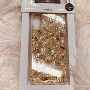 Brand new rose gold iPhone case x/xs